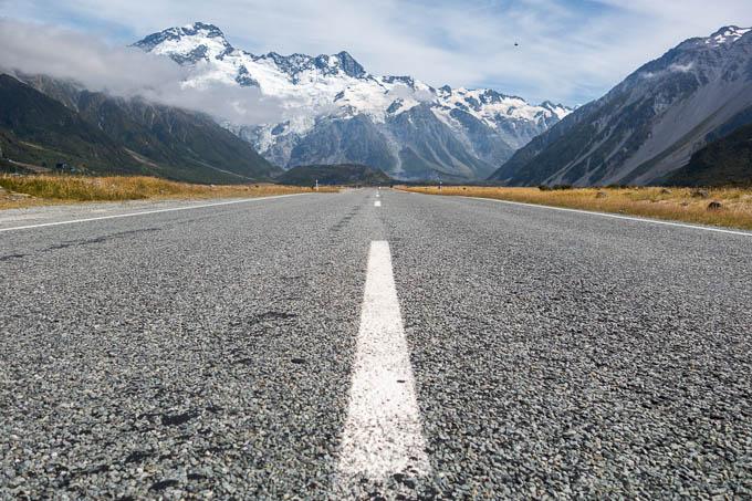 Neue Perspektiven Mt Cook Neuseeland