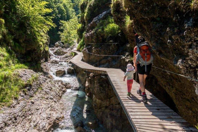 Wandern in Tirol Grießbachklamm