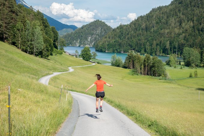 Wandern in Tirol Hintersteiner See