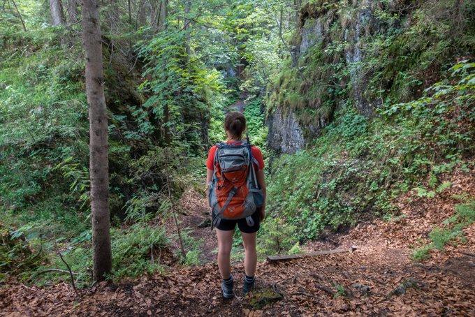 Wandern in Tirol Teufelsgasse