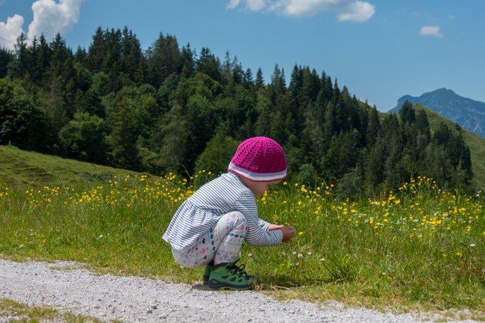 Wandern in Tirol Wandern mit Kleinkind