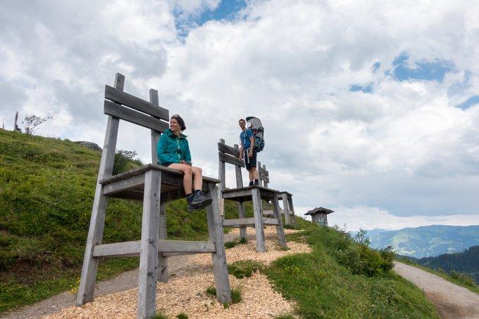 Wandern in Tirol mit Kind Ellmi's Zauberwelt