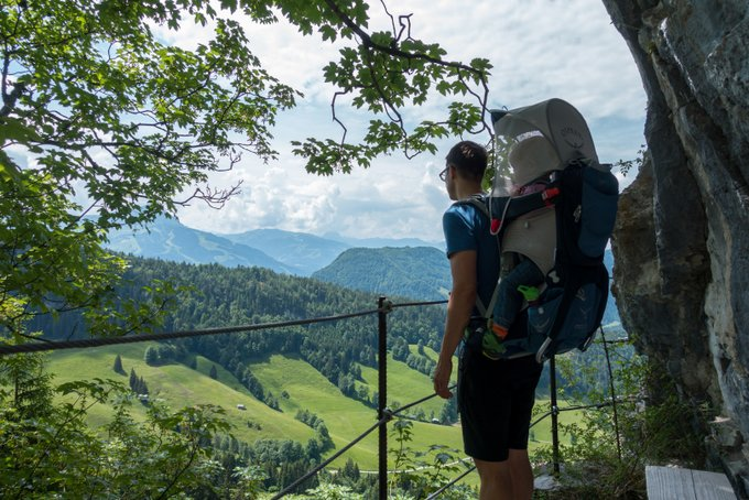 Wandern in Tirol mit Kind Teufelsgasse