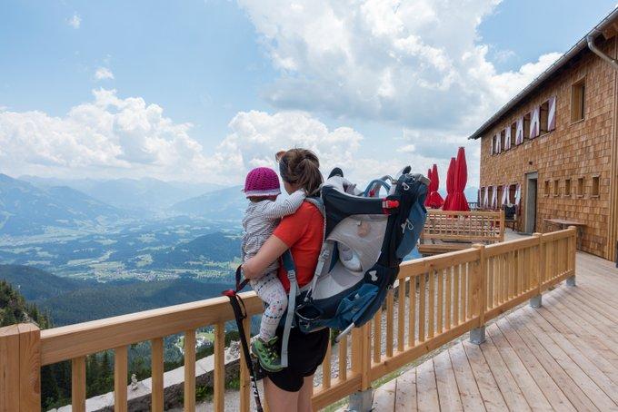 Wandern in Tirol mit Kindern Gruttenhütte