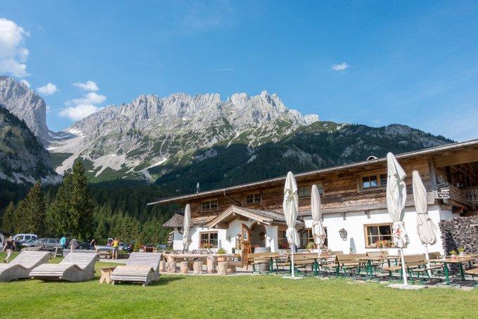 Wandern in Tirol mit Kindern Wochenbrunner Alm