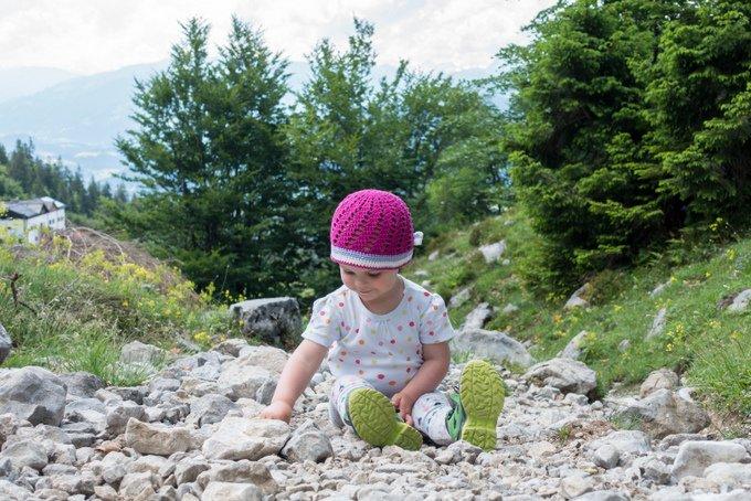 Wandern in Tirol mit Kleinkind