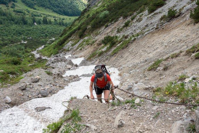 Wanderung Tirol über das Klamml Wilder Kaiser