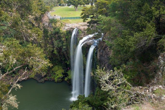 Wasserfall Langzeitbelichtung mit 0.5EV und Belichtungskorrektur