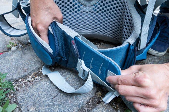 Osprey Tragerucksack ein Praxistest