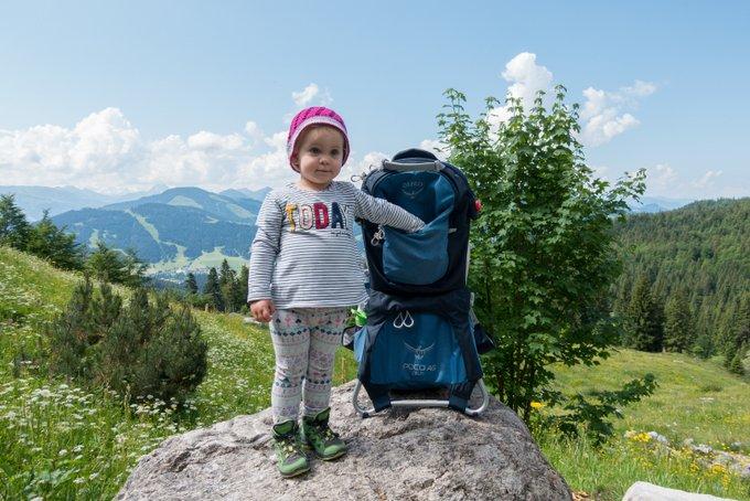 Tragrucksack von Osprey unser Erfahrungsbericht