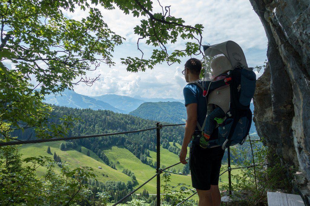 Wandern mit Kraxe Fünf Fehler und wie du diese vermeidest