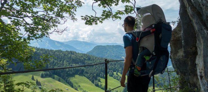 Wandern mit Tragerucksack. Fünf Fehler beim Wandern mit Kraxe und wie Du diese vermeidest