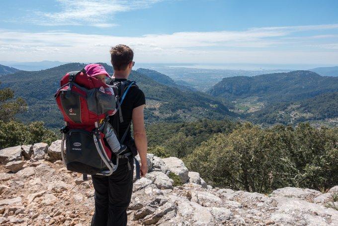 Wandern mit Kraxe auf Mallorca