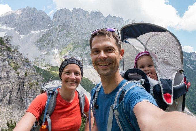 Wandern mit der Osprey Kraxe Praxistest