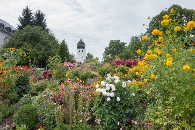 Chiemsee Reisetipps Fraueninsel Kräutergarten und Kloster