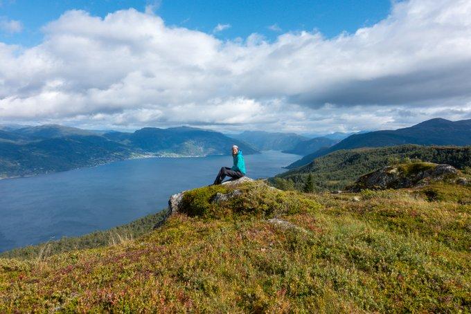 Ausblick Sognefjord Vangsnes