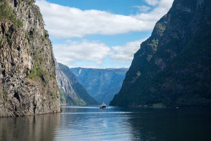 Der Sognefjord Norwegen