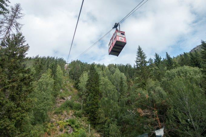 Norwegen Reiseroute Seilbahn Krossobanen