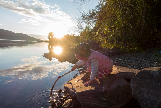 Norwegen Urlaub Tyrifjord mit Kleinkind