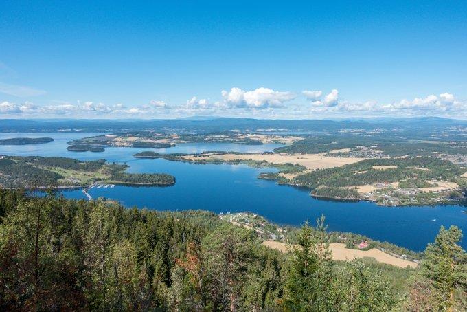 Reiseroute Norwegen Wanderung Aussichtspunkt Königliche Aussicht