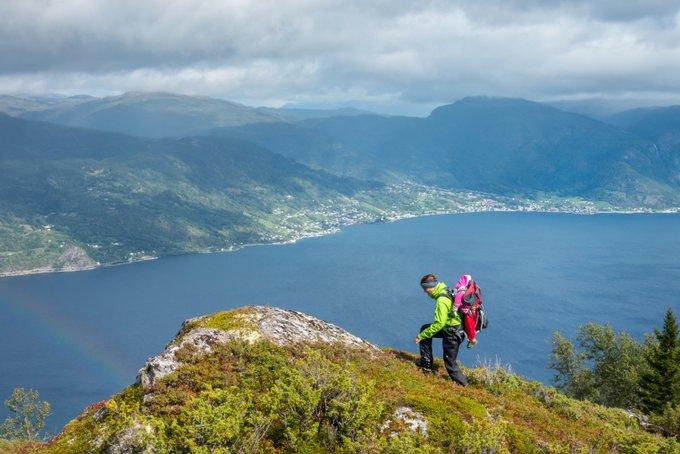 Sognefjord Wandern Norwegen Kvitenjuk