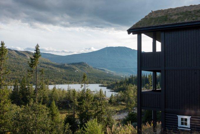 Unterkunft Norwegen Gaustatoppen