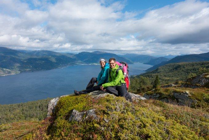 Wandern Norwegen Kvitenjuk Vangsnes