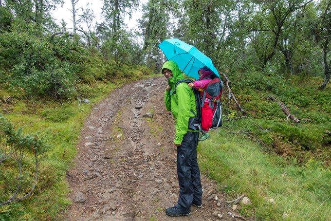 Wandern in Norwegen Kvitenjuk