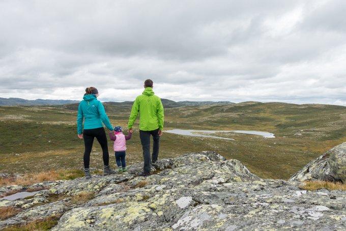 Wandern mit Kleinkind in Norwegen Hardangervidda Pignatten