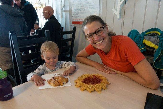 Wanderung Gaustatoppen Norwegen Verpflegung Gaustahytta
