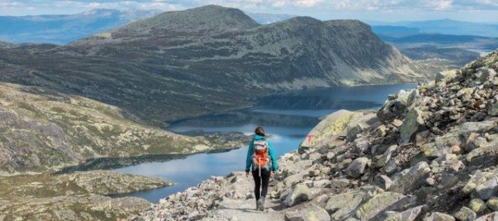 Wandern in Norwegen: Wanderung auf den Gaustatoppen