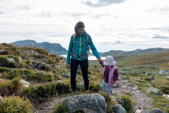 Wanderung Gaustatoppen Norwegen mit Kleinkind