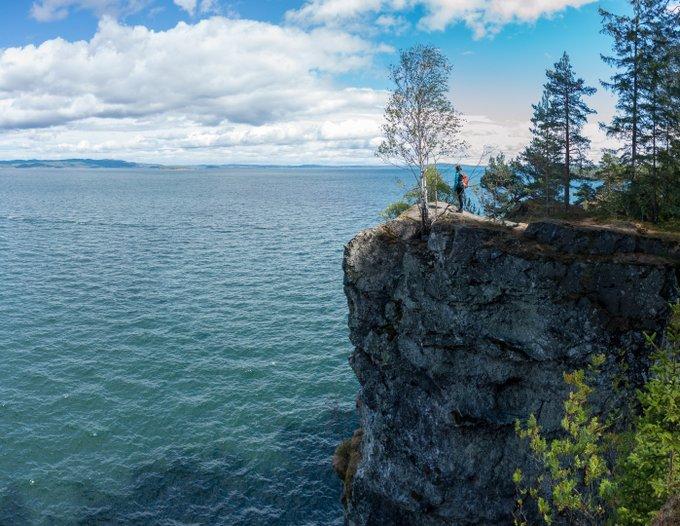 Wanderung Halbinsel Løvøya 2 Wochen Reiseroute Norwegen