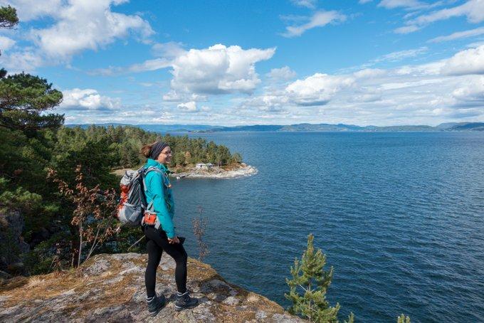 Wanderung Løvøya Norwegen Reiseroute