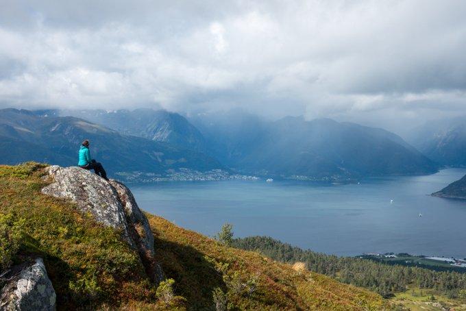 Wanderung Sognefjord Vangsnes