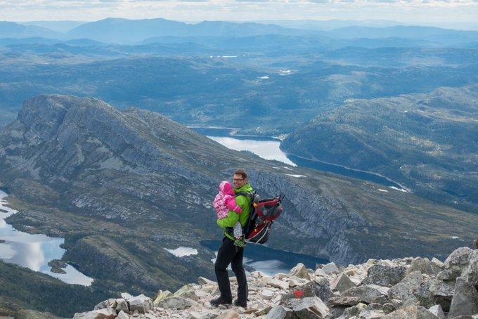 Fotospots Norwegen Gaustatoppen