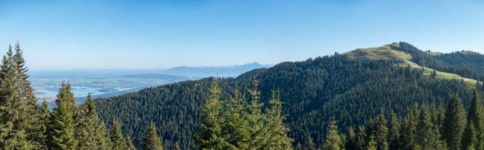 Panoramablick Hörnle Ammergauer Alpen