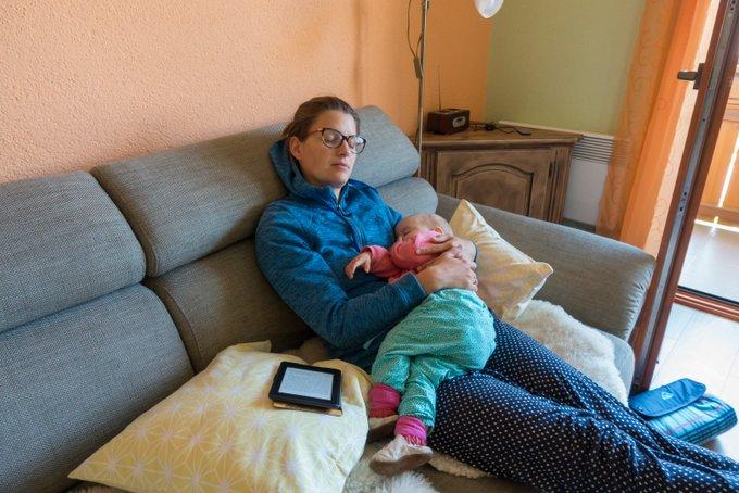 Reisen in der Elternzeit Baby krank