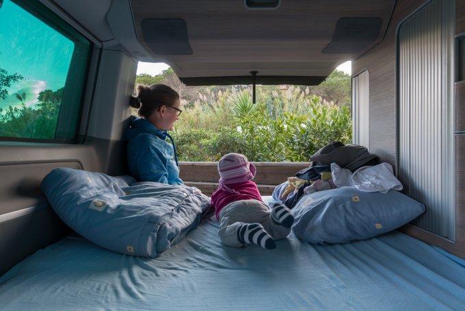 Reisen in der Elternzeit Camping Roadtrip