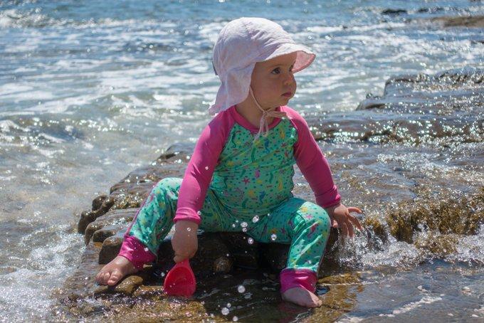 Reisen in der Elternzeit am Meer in Kroatien