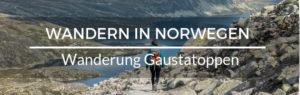 Wandern Norwegen Gaustatoppen