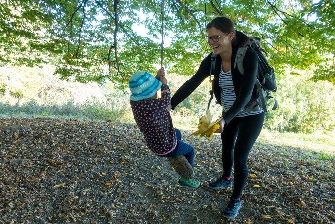 Wanderung auf das Hörnle mit Kleinkind