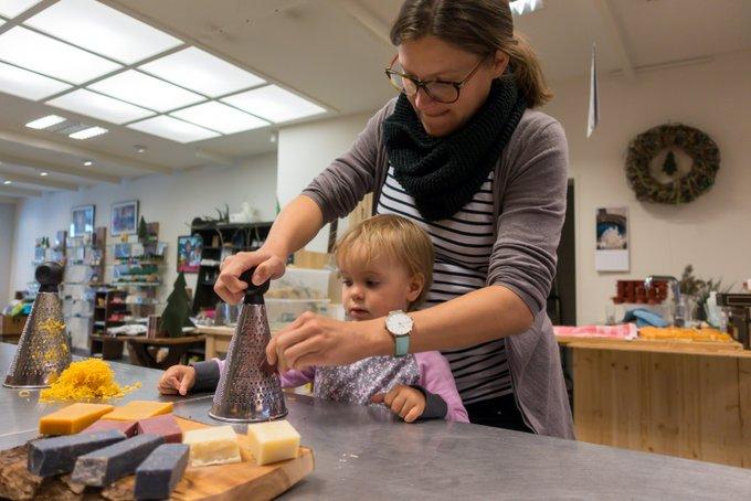 Seifen mit Kind selbst machen Schwarzwald