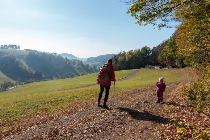 Wandern mit Kleinkind Schwarzwald