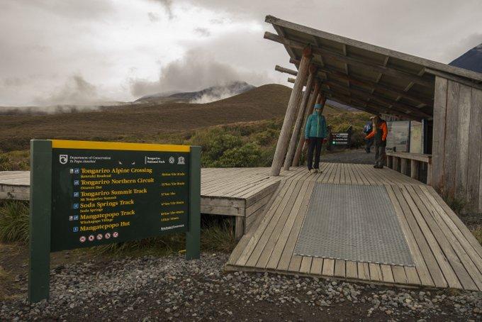 Gefahren Neuseeland Tongariro Crossing