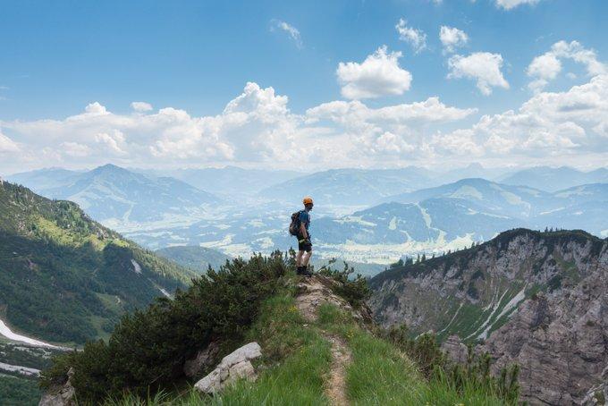 Gefahren Wandern weltweit Klettersteig