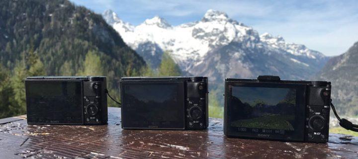 Alle Modelle der Sony RX100 Kompaktkamera im Vergleich – Und welche zu Dir passt
