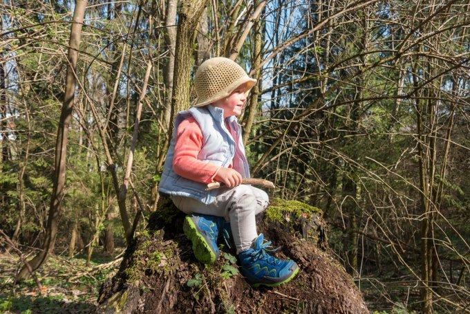 Wandern mit Kind Lowa Schuhe