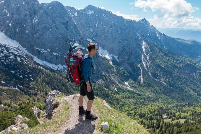 Wandern mit Kleinkind Gipfelglück