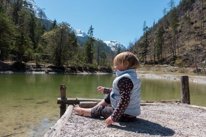 Wandern mit Kleinkind Pausen planen